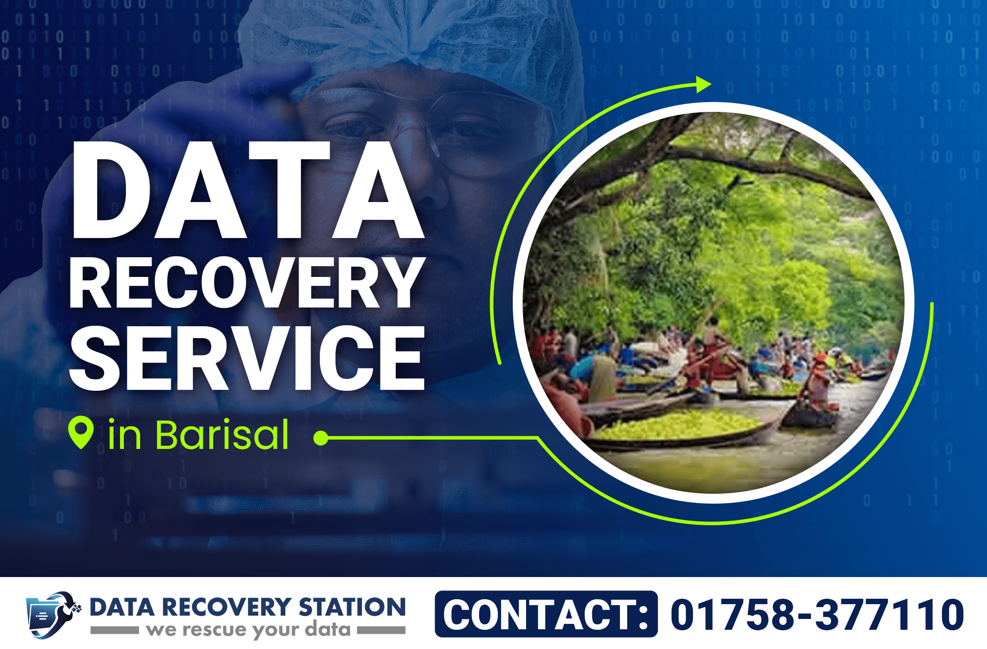Data Recovery Service in Barisal