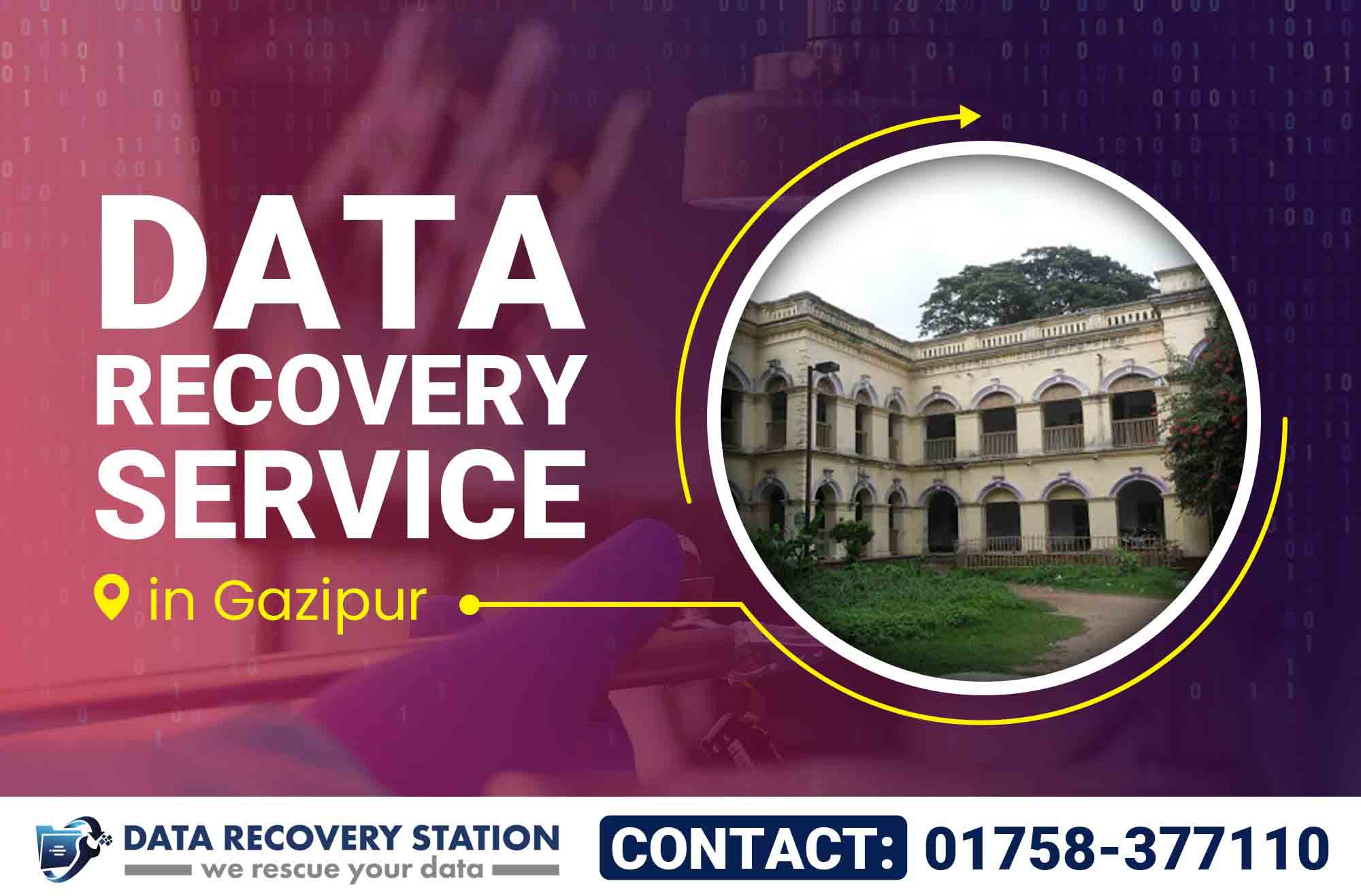 Data Recovery Service in Gazipur