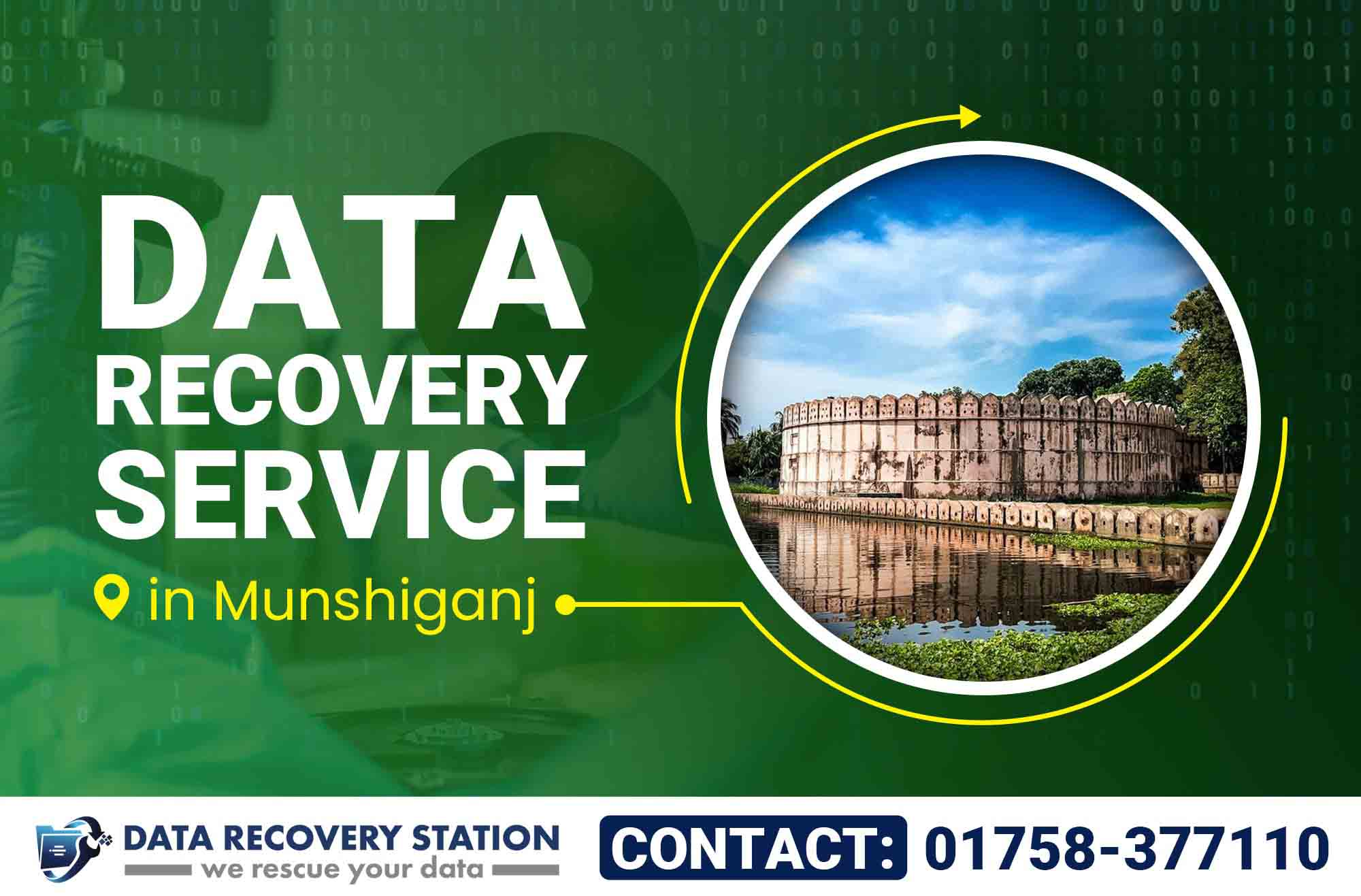 Data Recovery Service in Munshiganj
