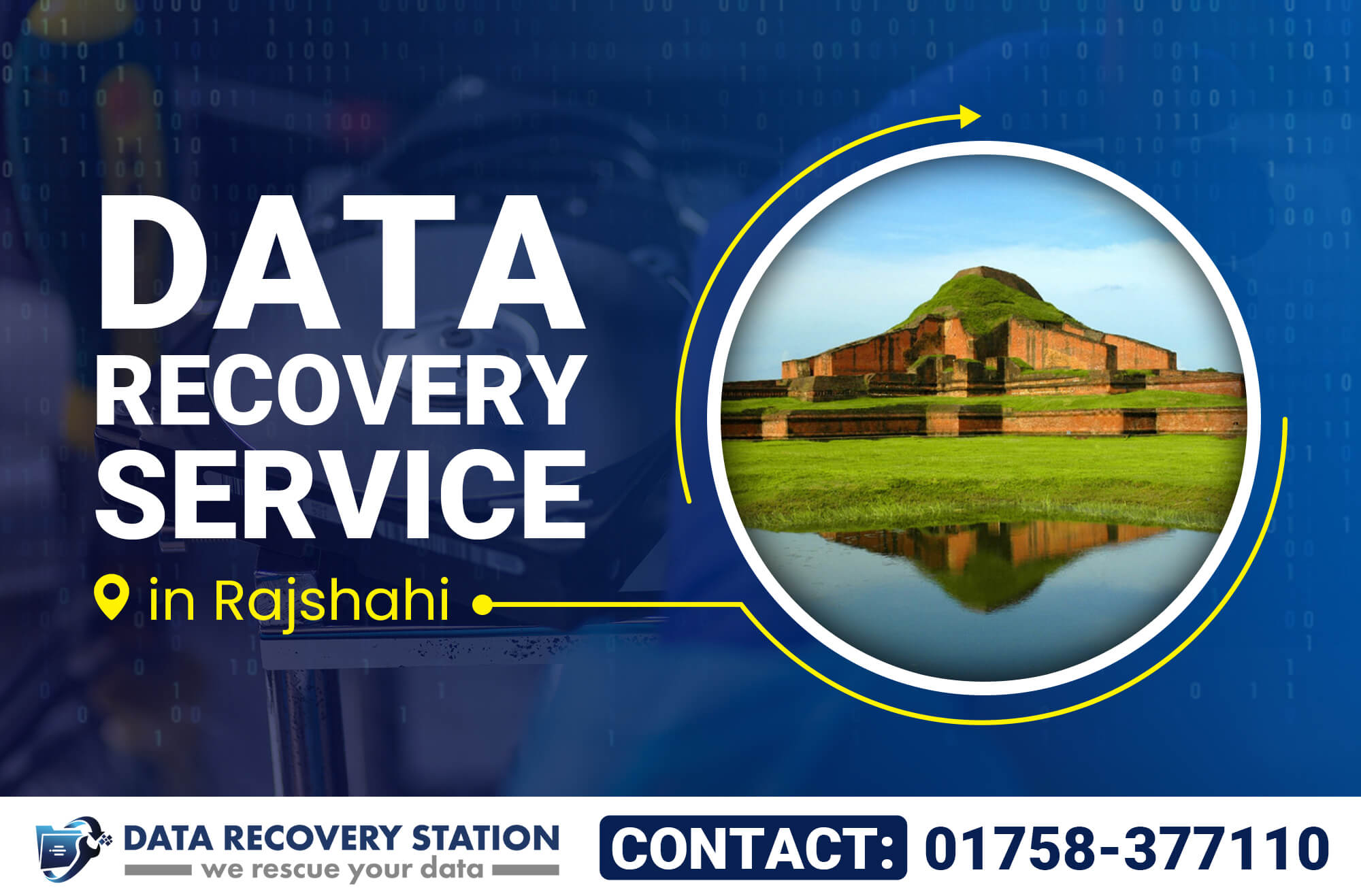 Data Recovery Service in Rajshahi