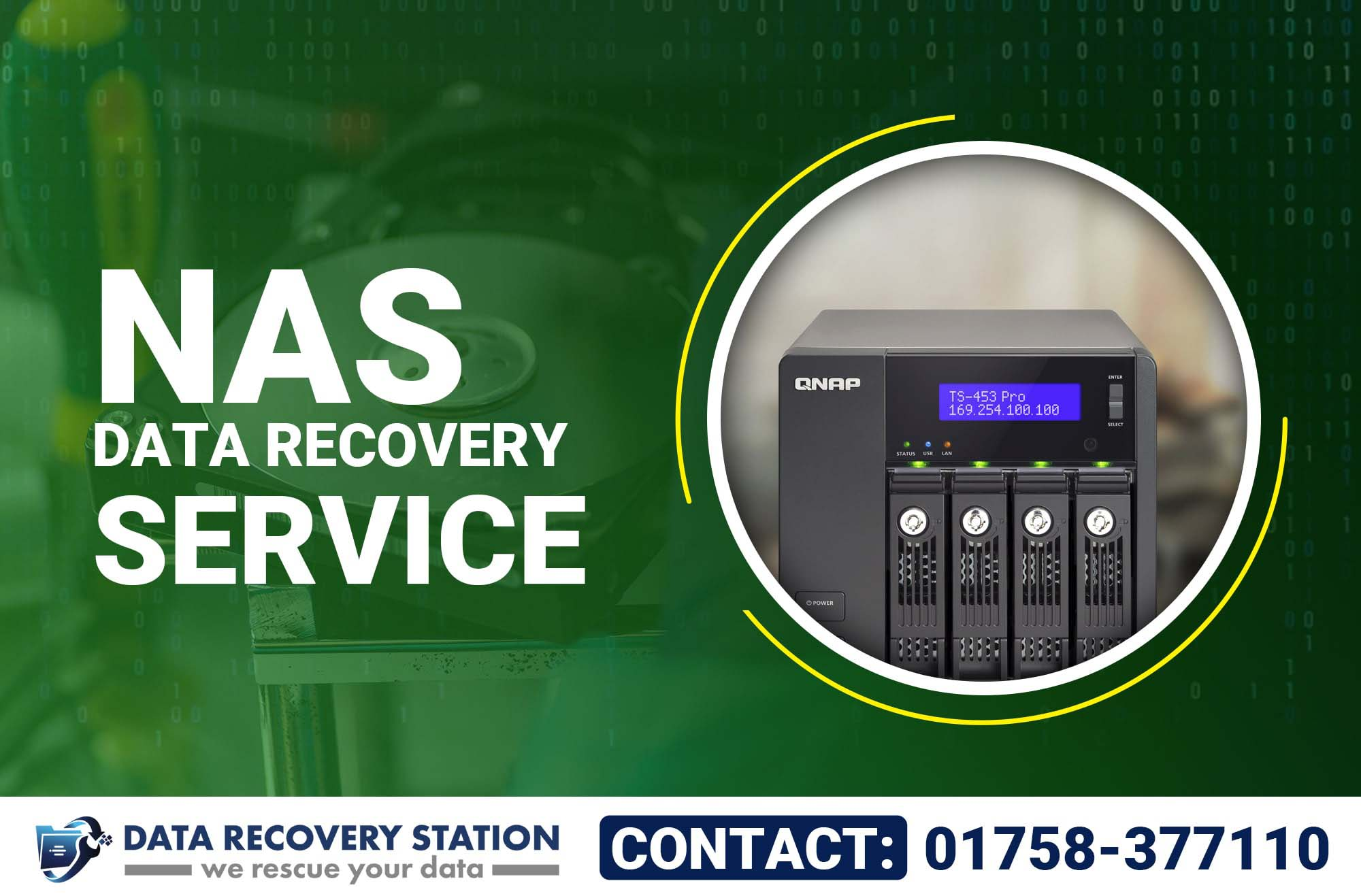 Nas Data Recovery Service